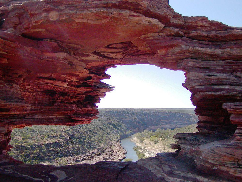 Murchison Gorge through Nature's Window