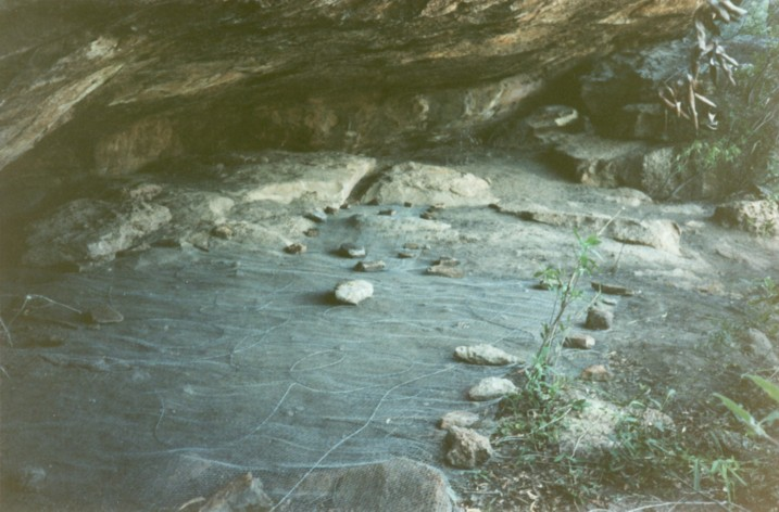 Excavations in Ngarrabullgan Cave in 1991