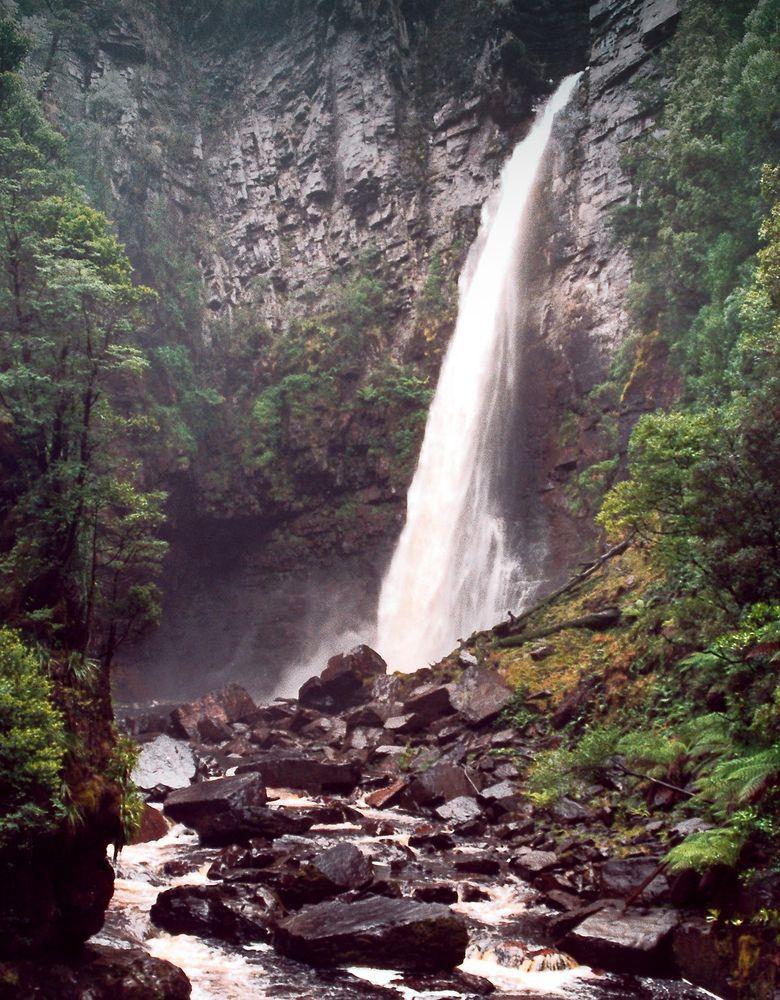 Reynolds Falls in Tasmania