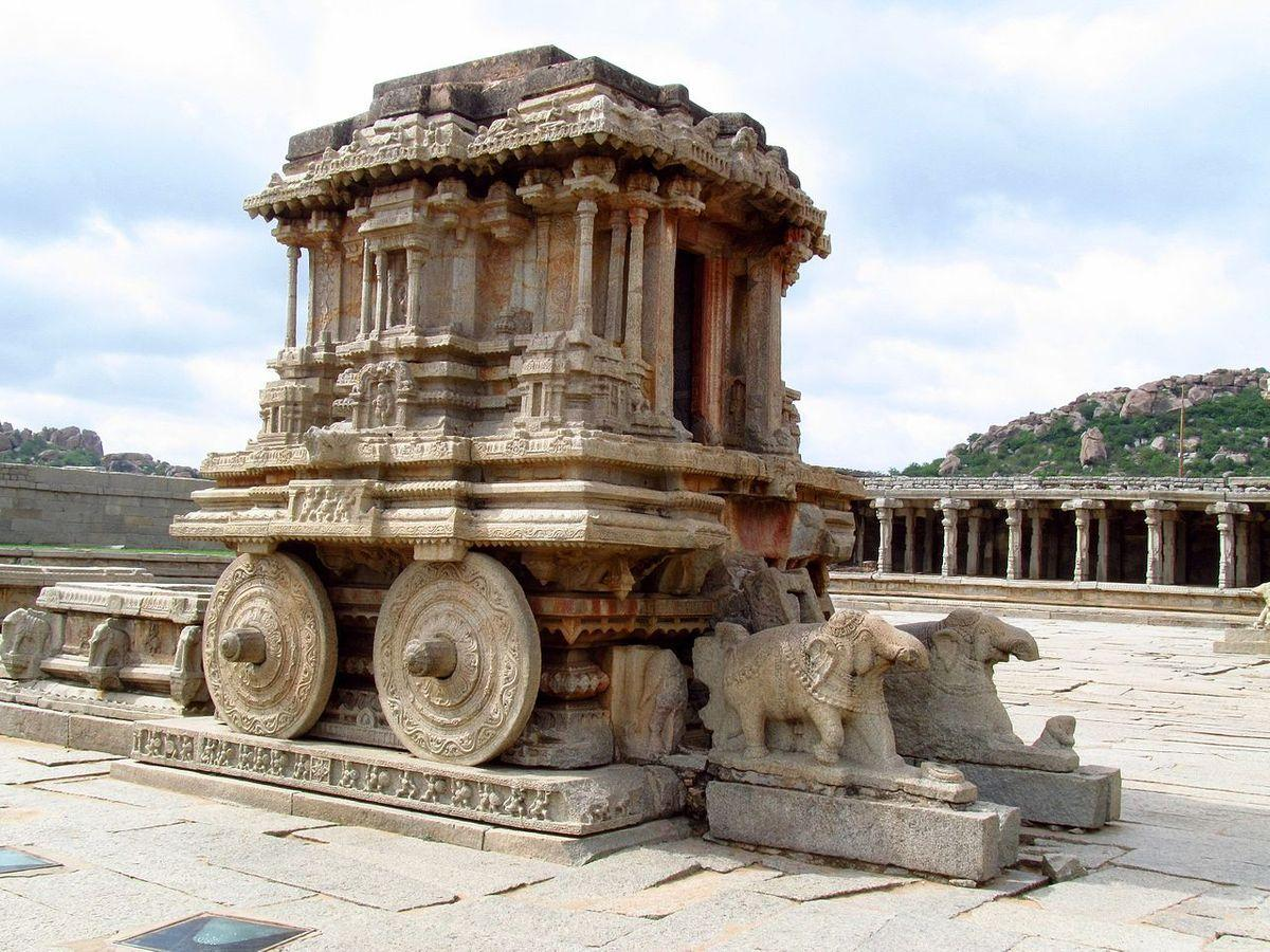 Kallina Ratha in Hampi, Vijayanagara