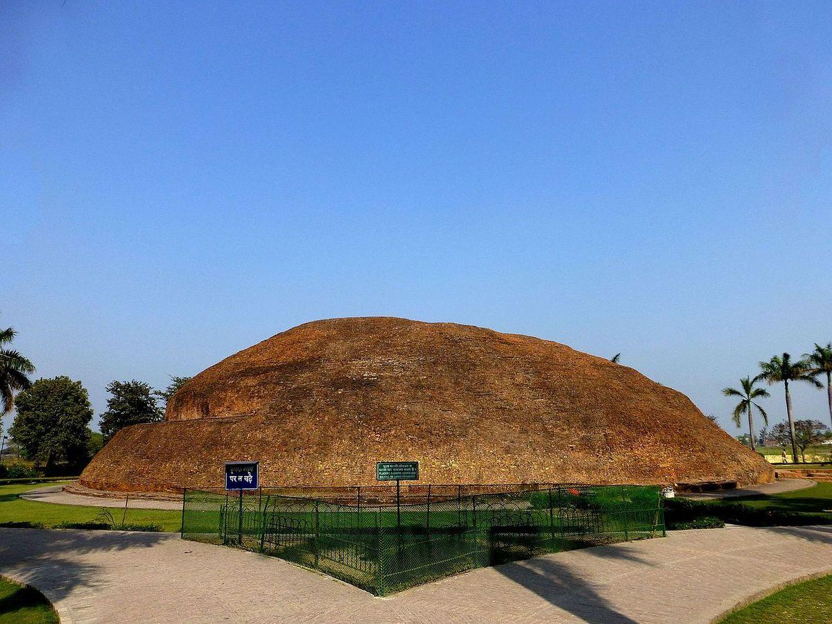 Ramabhar Stupa over the cremation of Buddha, Kushinagar