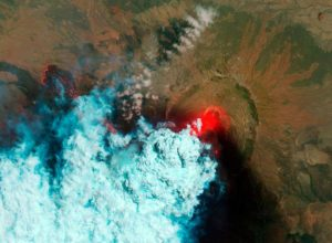 Nabro Volcano erupts in June 2011