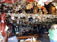 Inside the Salty Dawg Saloon