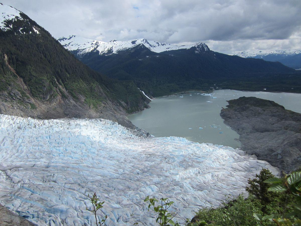 Mendenhall Glacier from West Glacier Trail