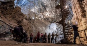 Moaning Cavern with ghastly cave formation