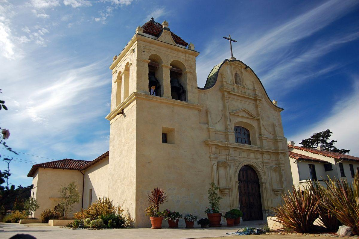 Cathedral of San Carlos Borromeo in Monterey