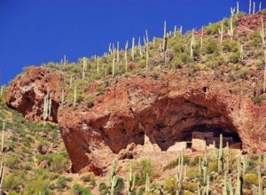 Lower Cliff Dwelling in Tonto National Monument