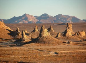 Some of Trona Pinnacles