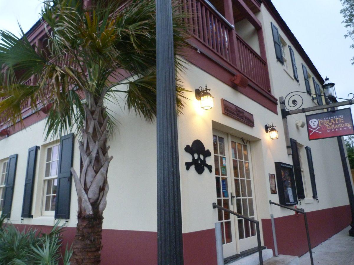 Pirate and Treasure Museum in St Augustine