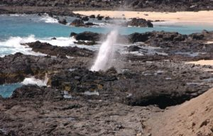 Hummock Point Blowhole, Ascension Island