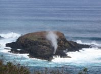 Blowhole on Moku Aeae