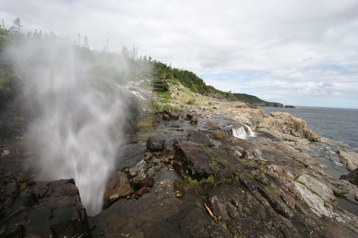 The Spout in Newfoundland