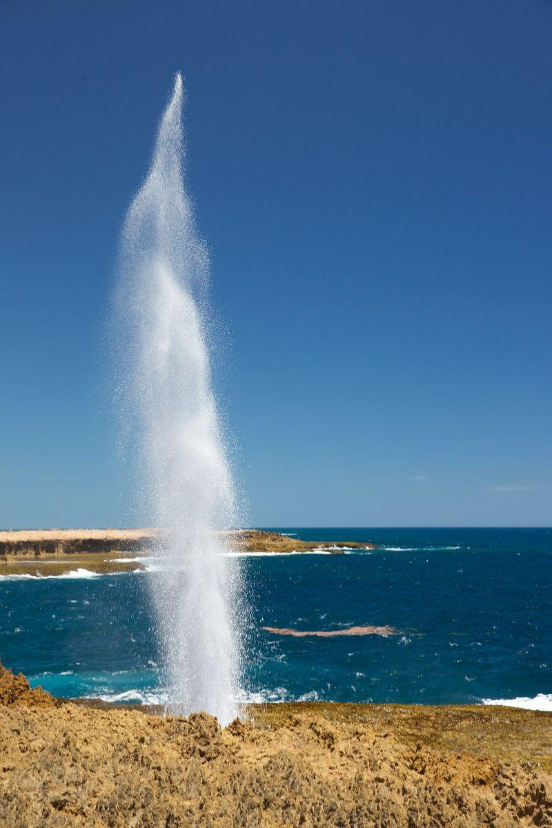 One of Quobba blowholes