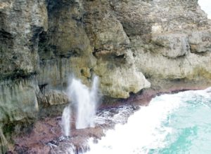 The Spout in Barbados