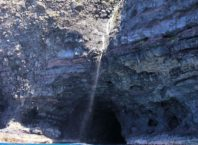 Entrance in Waiwaipuhi Sea Cave