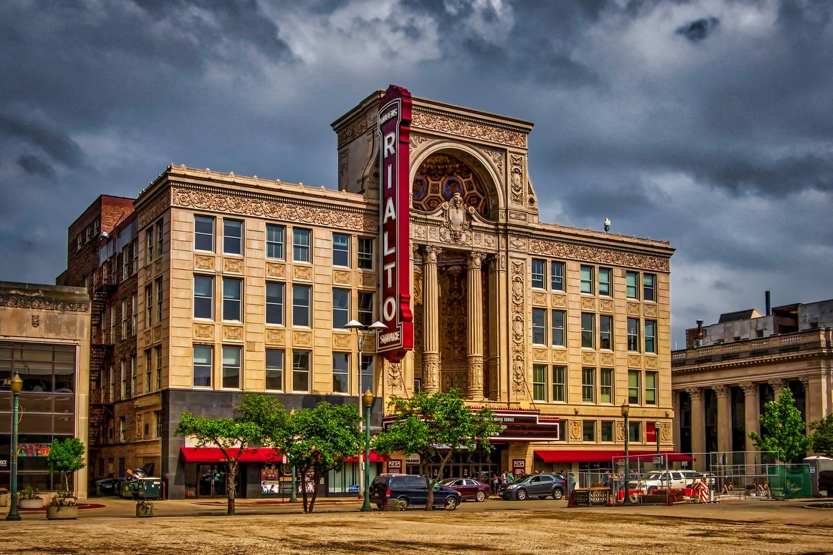 Rialto Square Theatre in Joliet