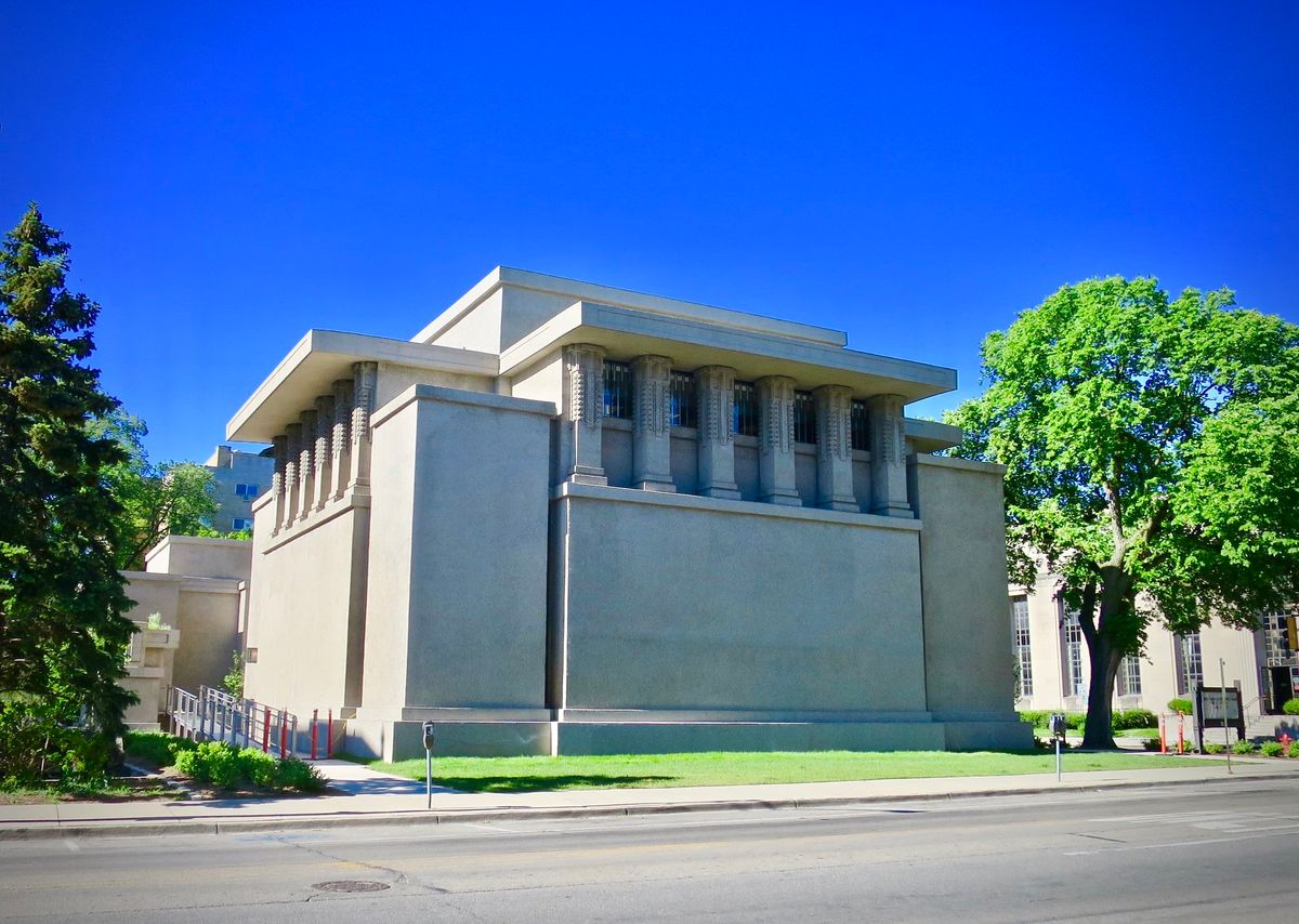 Unity Temple in Oak Park