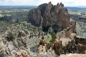 Landscape from Smith Rock