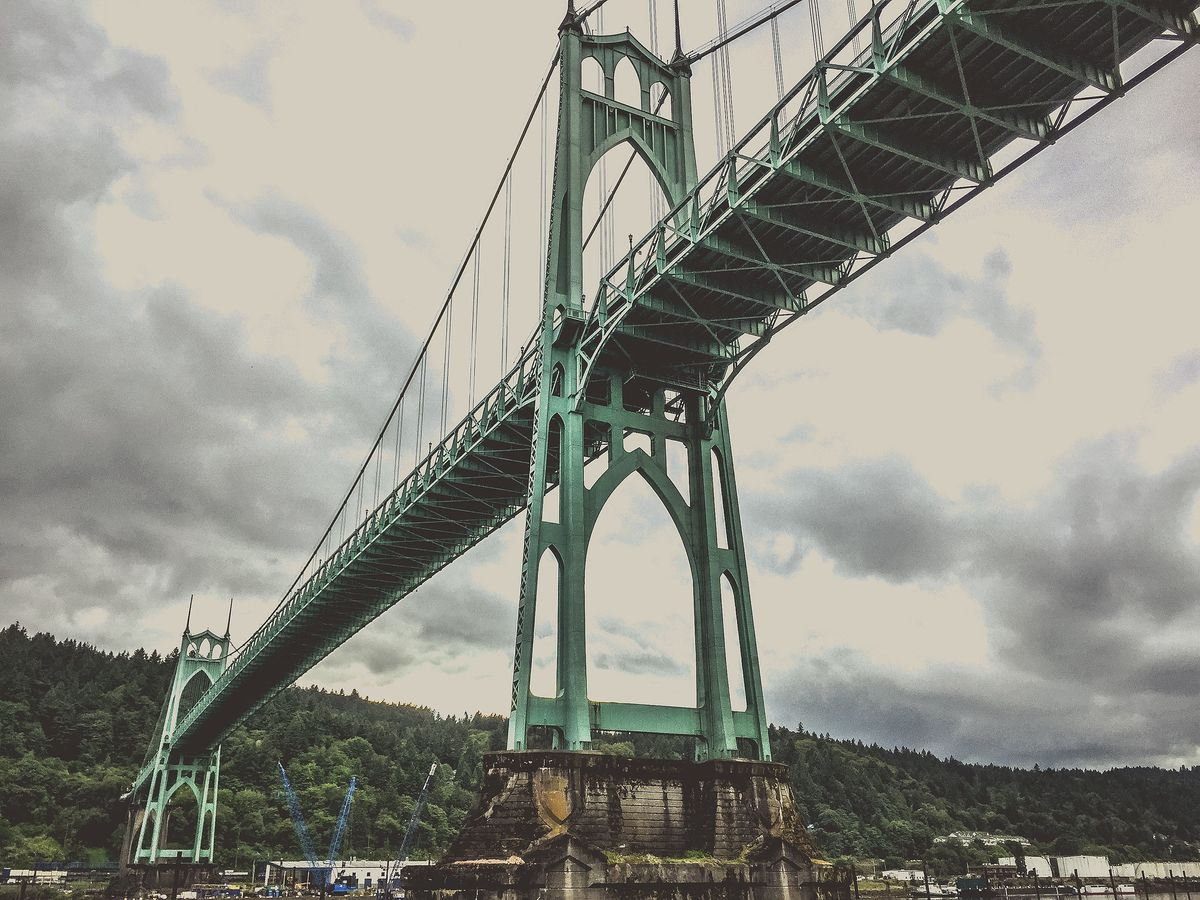 St. Johns Bridge in Portland