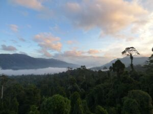 Sunrise over the Maliau Basin