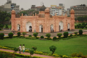 In the Lalbagh Fort
