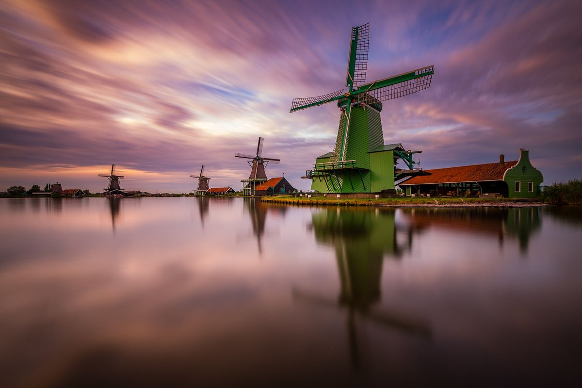 Zaanse Schans - one of the wonders of the Netherlands