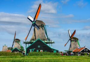 Windmills of Zaanse Schans