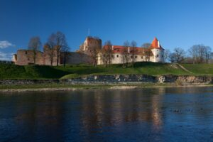 Bauska medieval castle and ducal palace
