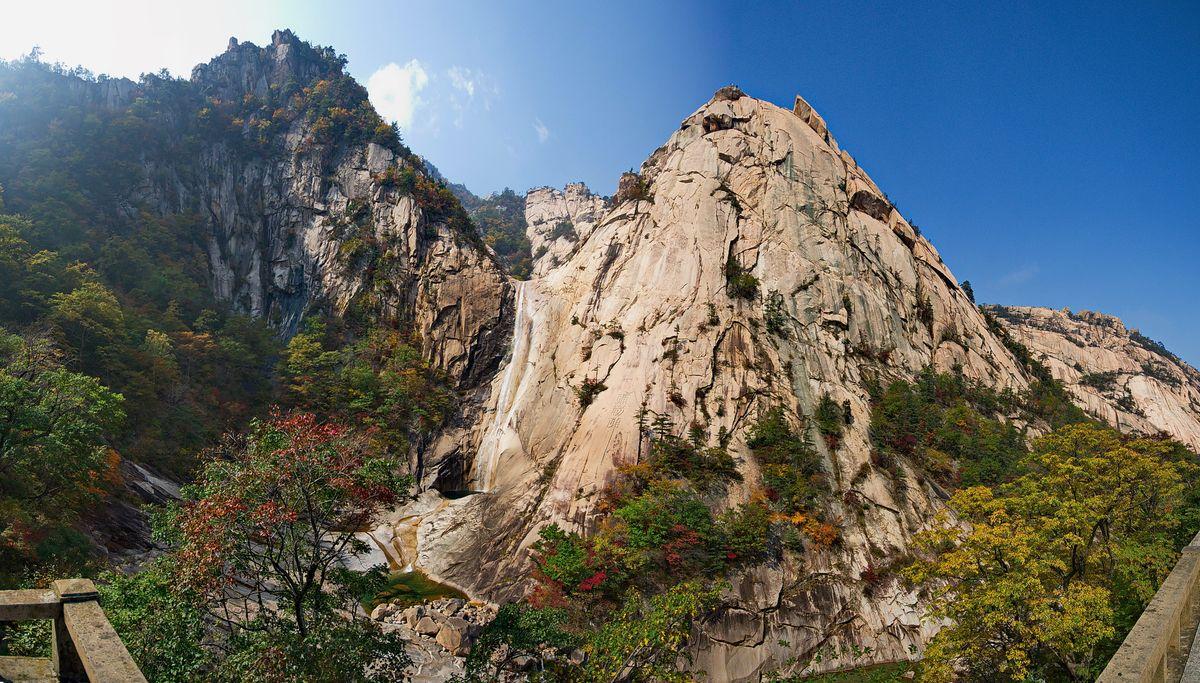 Kuryong Falls