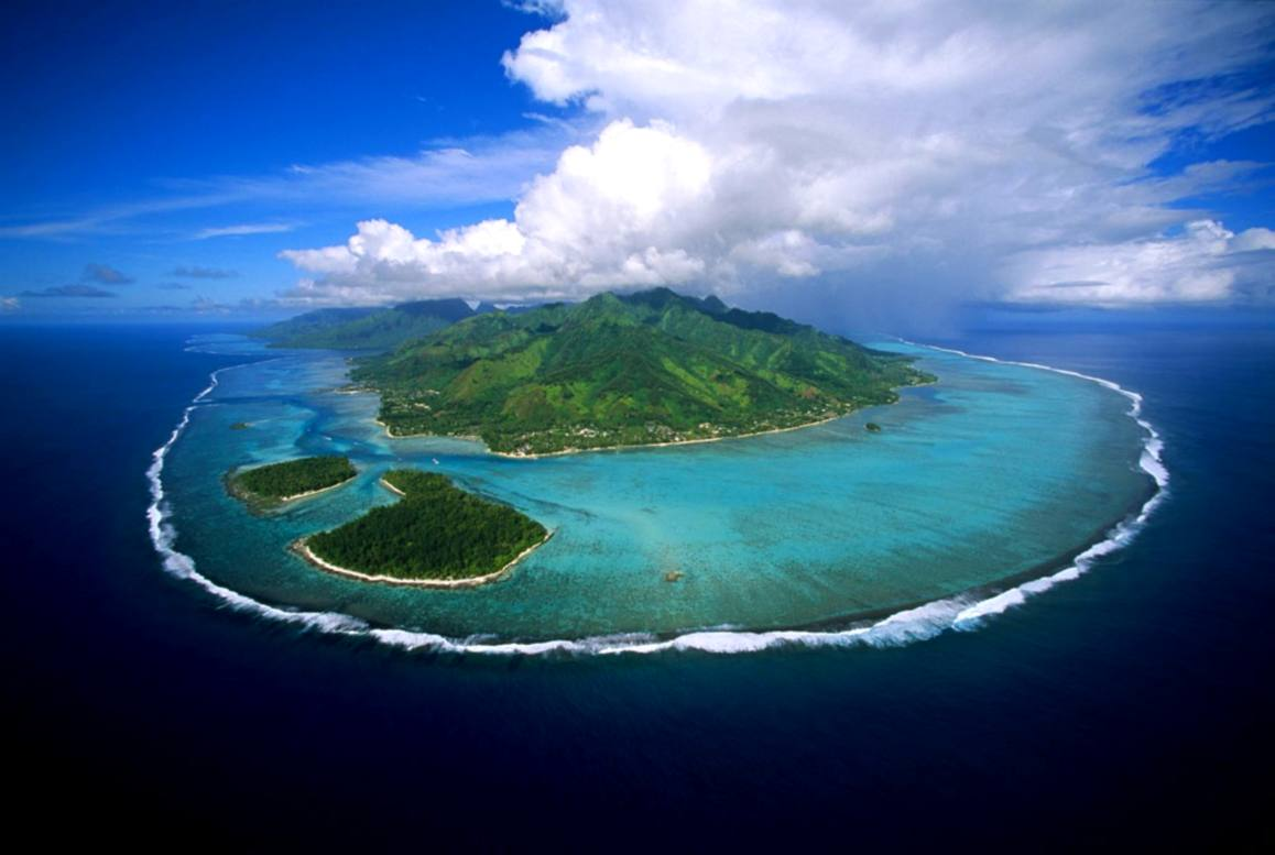 Moorea from air