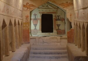 Apollophanes Cave, one of Sidonian Burial Caves
