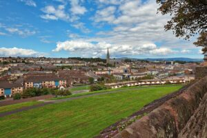 Derry City from walls