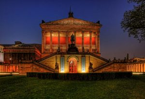 The Old National Gallery, Museum Island in Berlin