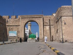 Old Tripoli, fortification walls