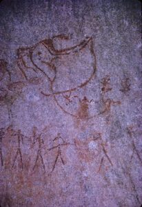 Pomongwe Cave painting
