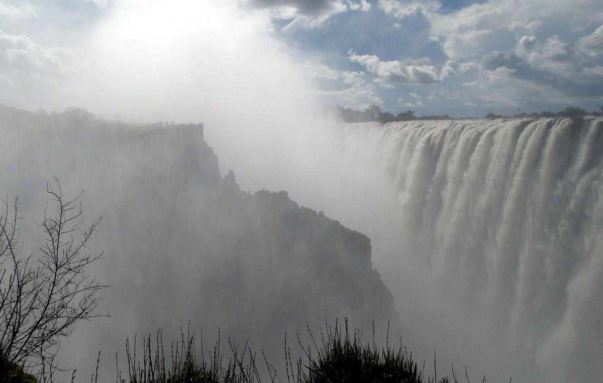 Victoria Falls in Zambian side